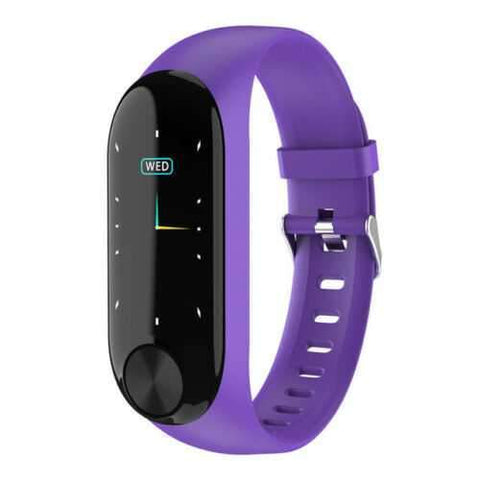 Y10 Fitness Smart Watch Purple