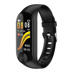 Y10 Fitness Smart Watch Black