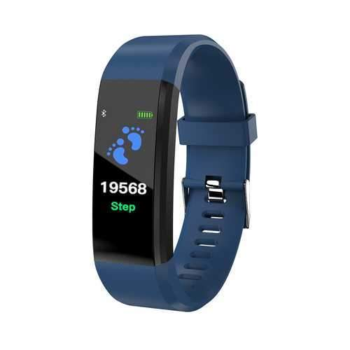 115 Plus Color Screen Smart Watch Blue