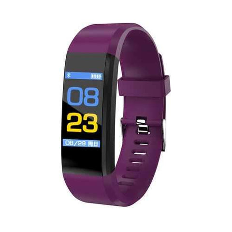 115 Plus Color Screen Smart Watch Purple