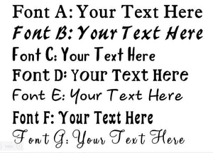 font a your text here font b font c font d font e font f font g your text here