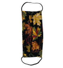 Load image into Gallery viewer, **This is 1 face cover with a reversible pattern: It has Birds, Butterfly's, and Dragonfly's on one side and Leaves in Fall Colors on the other.  **This face cover does not guarantee protection from disease.  You must wash before using. Stay safe and be well.