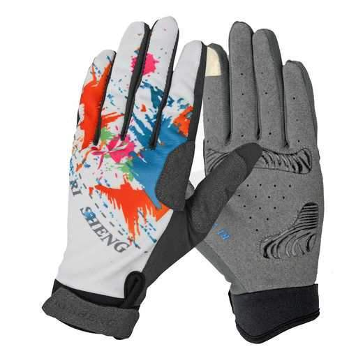 Cycling Bike Bicycle Gloves Riding Touch Screen Gloves Full Fingers Gloves