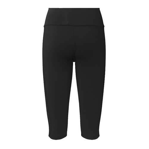 Sports Casual Women Mesh Patchwork High Waist Cropped Leggings