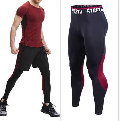 PRO Sports Compression Speed Dry Tight Pants High Stretch Running Fitness Pants