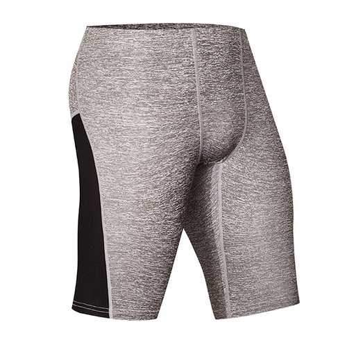 PRO Compression Flower Yarn Sports Tights Pants Men's Quick Drying Fitness Shorts