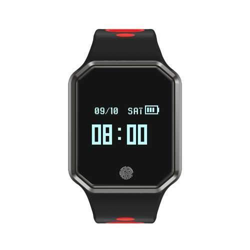 Bakeey EN11 Heart Rate Blood PressureMonitor Long Standby Fitness Tracker Smart Watch
