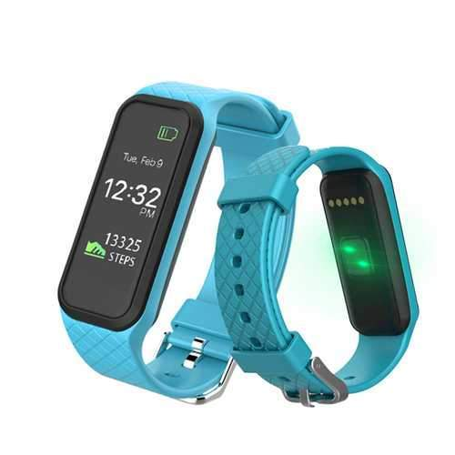 Bakeey X3 Blood Pressure Heart Rate Monitor Pedometer Fitness Tracker bluetooth Smart Wristband