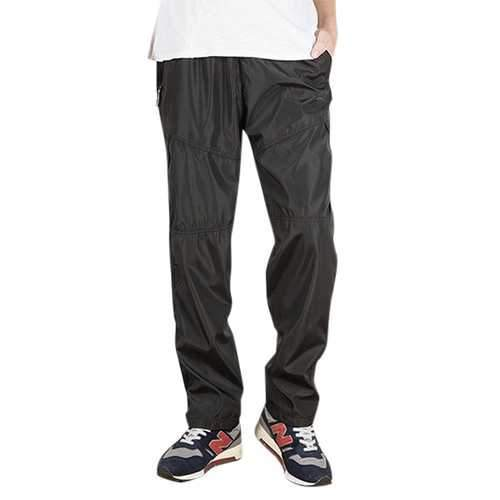 Mens Plush Warmth Leisure Pants Breathable Sports Pants