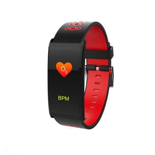Bakeey X20 0.96inch IP68 Waterproof Blood Pressure Heart Rate Monitor bluetooth Smart Wristband