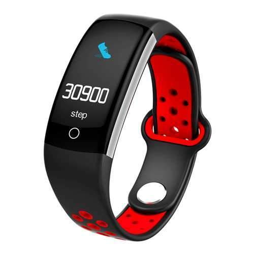 Bakeey Q6 0.96inch IP68 Blood Pressure Heart Rate Monitor Fitness Tracker bluetooth Smart Wristband