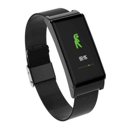 Bakeey B15 Blood Pressure Heart Rate Monitor Pedometer Fitness Tracker bluetooth Smart Wristband