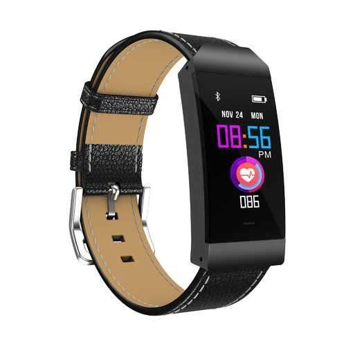 "Goral S7 0.96"" IPS Color Screen Blood Pressure Dynamic Heart Rate Multi-sport Mode Smart Watch"