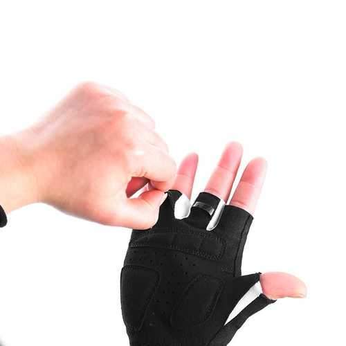 ROCKBROS S145 Cycling Gloves For Kids Bike Breathable Sports Glove Gel Pad Half Finger Shockproof Boys Girls