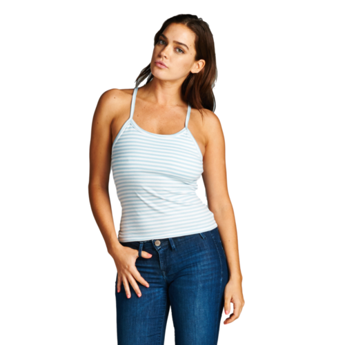 Women's Tight Striped Camisole Tank Top