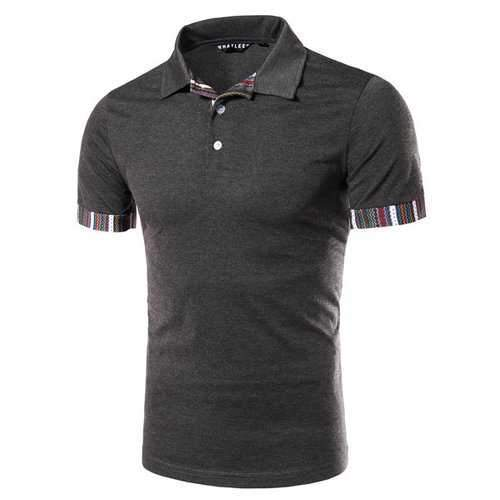 Summer Slim Fit Casual Golf Shirt