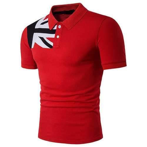 Western Style Casual Golf Shirt