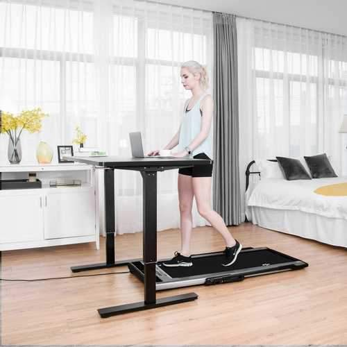 Goplus 1.5HP Running Folding Treadmill with  Intelligent Speed Control