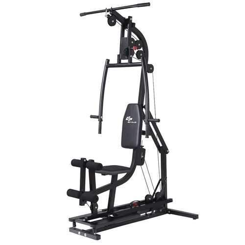 Multifunctional Home Gym Station Workout Machine Training Steel