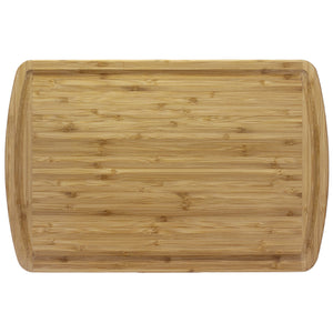 "18"" Bamboo Cutting Board with Juice Groove (Personalize This!)"
