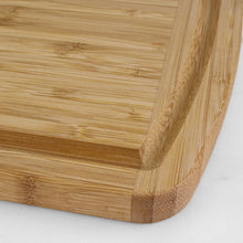 "Load image into Gallery viewer, 18"" Bamboo Cutting Board with Juice Groove (Personalize This!)"