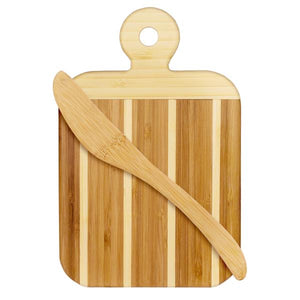 "9"" Serving and Cutting Board with Spreader Knife Combo Set (Personalize This!)"