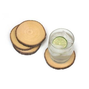 Acacia Slab Coaster Set of 4 (Personalize This!)