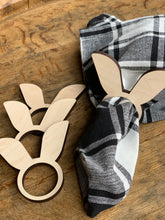 Load image into Gallery viewer, Bunny Ear Napkin Rings, Set of 4