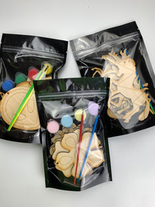 Space Busy Bag, DIY Paint Set of 8