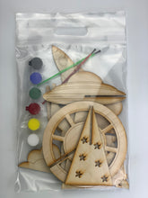 Load image into Gallery viewer, Space Busy Bag, 3D DIY Wood paint kits