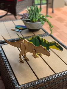 Dinosaur Busy Bag, 3D DIY Wood paint kits