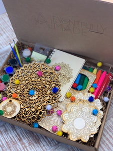 Mandala Busy Box, DIY Mega Kit