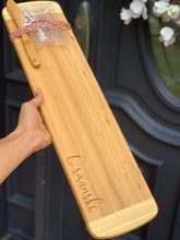 "Load image into Gallery viewer, 23"" Bamboo Bread Cutting & Serving Board (Personalize This!)"
