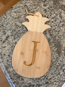 Pineapple Shaped Cutting & Serving Board (Personalize This!)