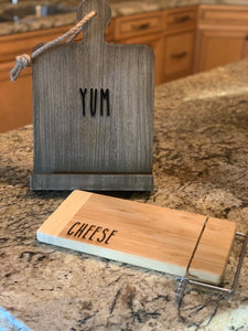 Tablet/Recipe Stand (Personalize This!)