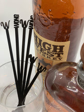 Load image into Gallery viewer, black acrylic bar drink  stirrers
