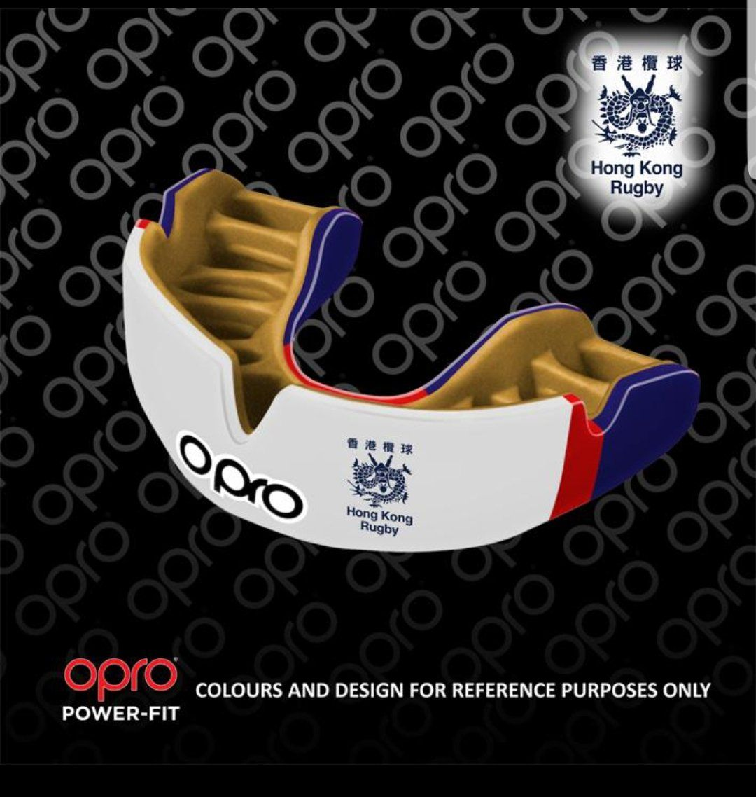 Opro Power-Fit Mouthguard - Rugby Union