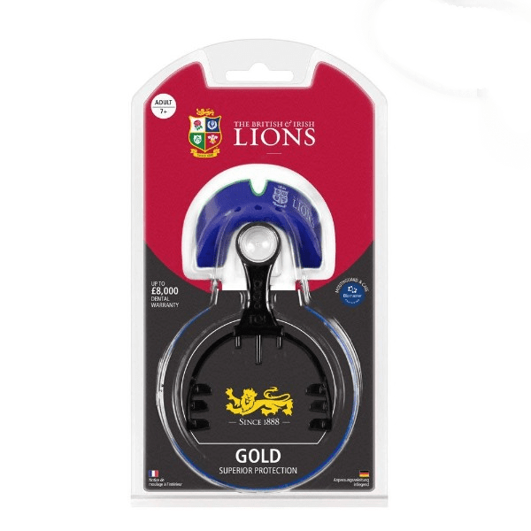 Opro Gold Self-Fit British & Irish Lions Official MouthGuard