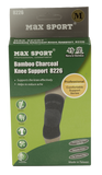 MAX SPORT Bamboo Charcoal Knee Support 8226