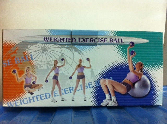 Kamachi Weighted Exercise Ball (2pcs/pack)