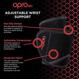 Oprotec Adjustable Wrist Support