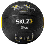 SKLZ Trainer Med Ball 8 LB-Self Coaching Medicine Ball with Printed Exercise Instructions