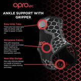 Oprotec Ankle Support With Gripper