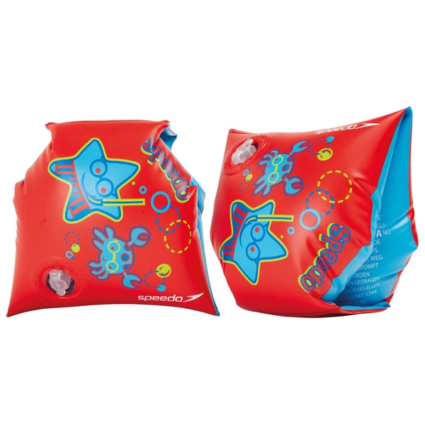 Speedo Sea Squad Armbands Red 2-6yrs