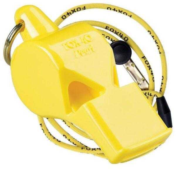 FOX40 Sonik Blast CMG Whistle With Breakaway Lanyard FOX40