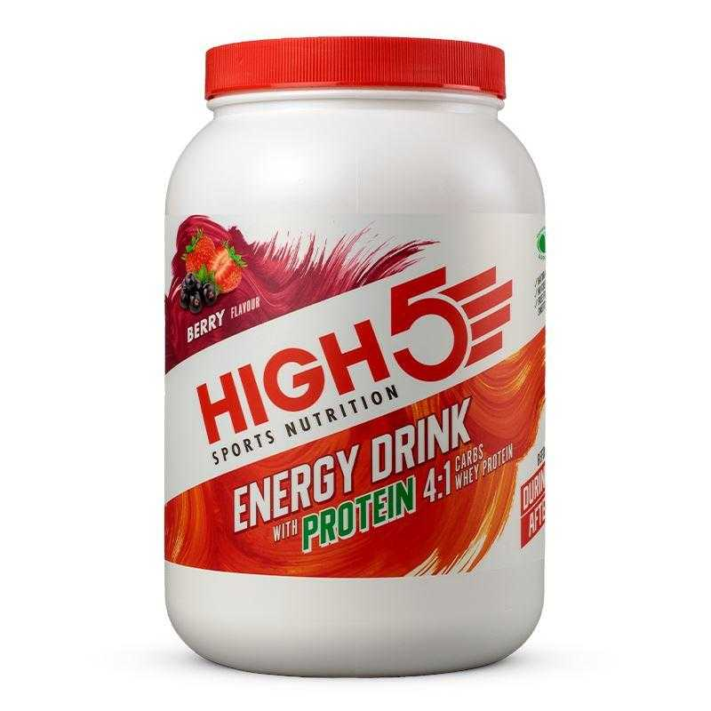 High5 Energy Drink with Protein (1.6kg) High5 Berry