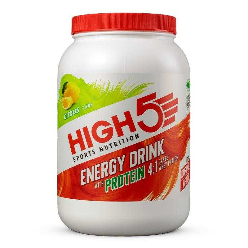 High5 Energy Drink with Protein (1.6kg) High5 Citrus