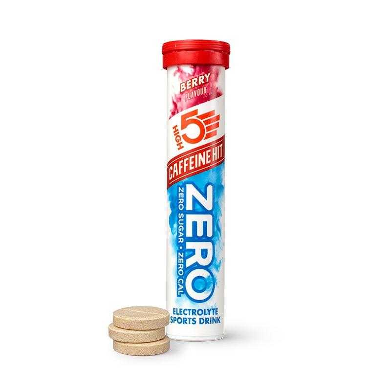 High5 Zero Caffeine Hit Electrolyte Drink Tablets (20 Tablets Per Tube) High5 Berry