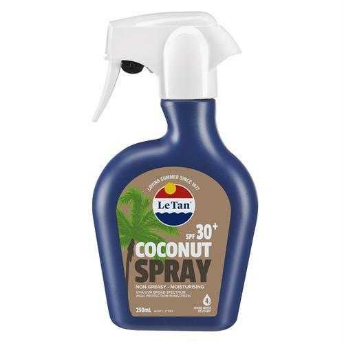 Le Tan Coconut SPF30 Spray 250ML Le Tan