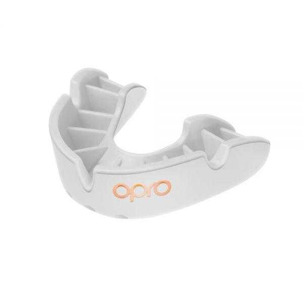 Opro Bronze Mouthguards Opro White Junior